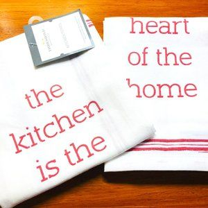 ❤️Threshold™ Heart of the Home Kitchen Towel